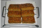 کیک تره فرنگی و هویج