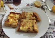 پیده مرغ و پنیر