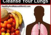 داشتن ریه هایی سالم با این برنامه غذایی