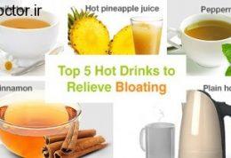 نوشیدنی خانگی مفید برای رفع نفخ