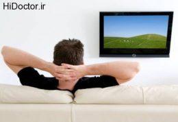 تماشای تلویزیون ممکن است باعث چاقی شود