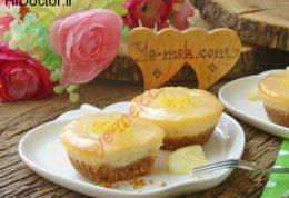 مینی چیز کیک لیمویی