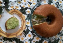 کیک اسفناج با آرد ذرت