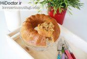 کیک بدون شکر با آرد سبوس دار