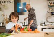 تنظیم خورد و خوراک فرزند