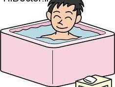 افراد آسیب پذیر در برابر حمام با آب گرم