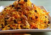 روش تهیه هویج پلو در کشور لبنان