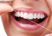 نخ دندان و مراقبت از لثه ها در برابر بیماری
