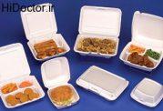 ظروف یکبار مصرف و غذاهای سرد