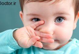 گرفتگی بینی خردسالان
