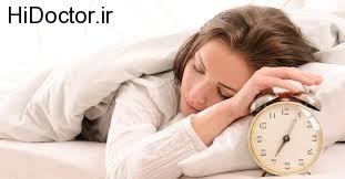 مشکلات مختلف در اثر اختلالات خواب