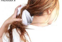 چرا نباید با موی خیس خوابید