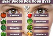 تقویت بینایی با این خوراکی ها