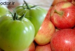 برای افزایش قدرت و حجم عضلانی سیب و گوجه فرنگی سبز بخورید!