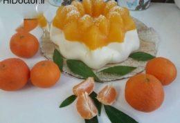 رسپی تاج پرنسس با نارنگی