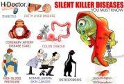 10 بیماری که لقب قاتل خاموش گرفته اند