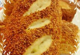 نان سیمیت پنیری