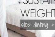 تعادل وزن پس از قطع رژیم غذایی