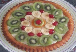 کیک تارت میوه ای