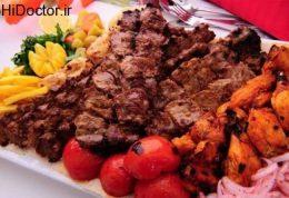غذای اصلی مهمانی های مردم لار