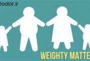 درگیری فرزندان با چاقی والدین
