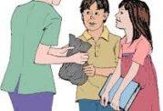 مقابله با فضولی های اطفال