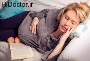 مشکلات خوابیدن در بارداری
