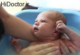 توصیه هایی در زمینه شست و شوی نوزاد تازه به دنیا آمده