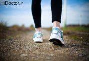 نکات مهم برای پیاده روی استاندارد