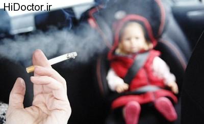 آسیب دود سیگار روی دندان های شیرخوران