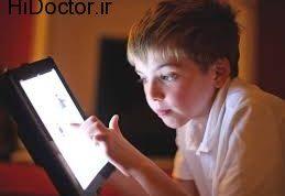 سرگرم کردن خردسالان با تبلت