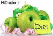 لاغری با انواع میوه ها و خوراکی ها