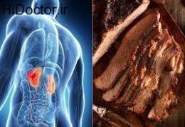 مصرف خوراکی های گوشتی و این پیامدها