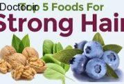 مواد غذایی مفید برای محافظت از مو