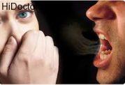 ایجاد بوی دهان با عفونت در لثه و مشکلات گوارشی