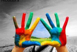تقویت روحیه با رنگ درمانی