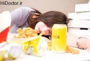 کسلی پس از غذا خوردن