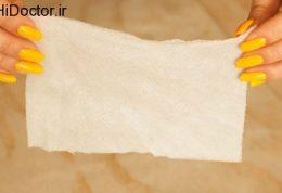 آموزش تصویری آماده کردن دستمال مرطوب