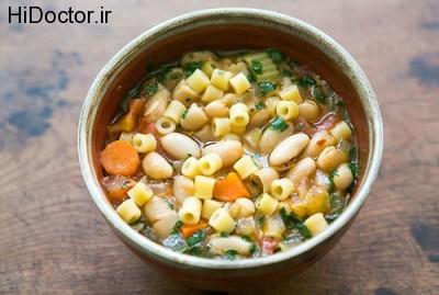 سبک تغذیه ای مردم ایتالیا در تهیه پاستا
