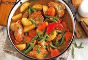 طعم جدید و متفاوت خوراک با مرغ