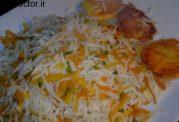 پلو با رنگ و بوی پرتقال