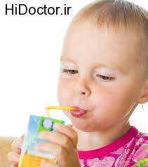تاثیرات مفید آبمیوه روی اشتهای اطفال
