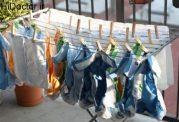 خشک کردن لباس در خانه و بیمار شدن اعضای خانواده