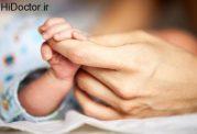 سلامت بدنی نوزاد با زایمان طبیعی