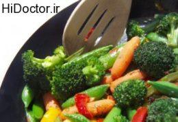 برای طبخ سبزیجات چه کارهایی باید انجام دهیم