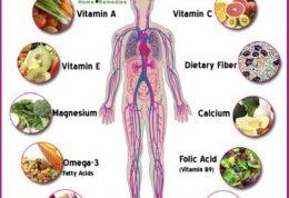 تاثیرگذاری انواع ویتامینها و املاح معدنی برای بدن