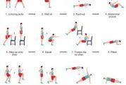 حرکات ورزشی برای تناسب اندام بیشتر در منزل
