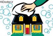 خانه تکانی و مواد مفید برای آن