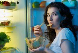 بعد از نیمه شب به غذا فکر نکنید