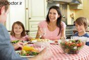 توصیه های لازم برای وعده شام